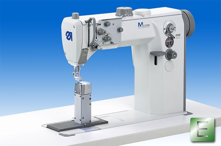 Durkopp Adfler 868-190020 The right handed M-TYPE post bed machine as ECO version