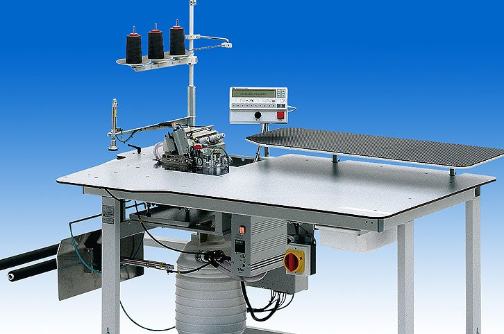 Durkopp Adler 1220-6 Single-head overlock units for serging of long and short seams