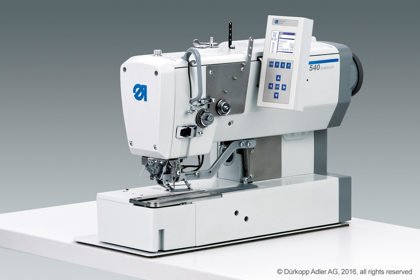 Durkopp Adler 540-500-01 lockstitch buttonhole machine