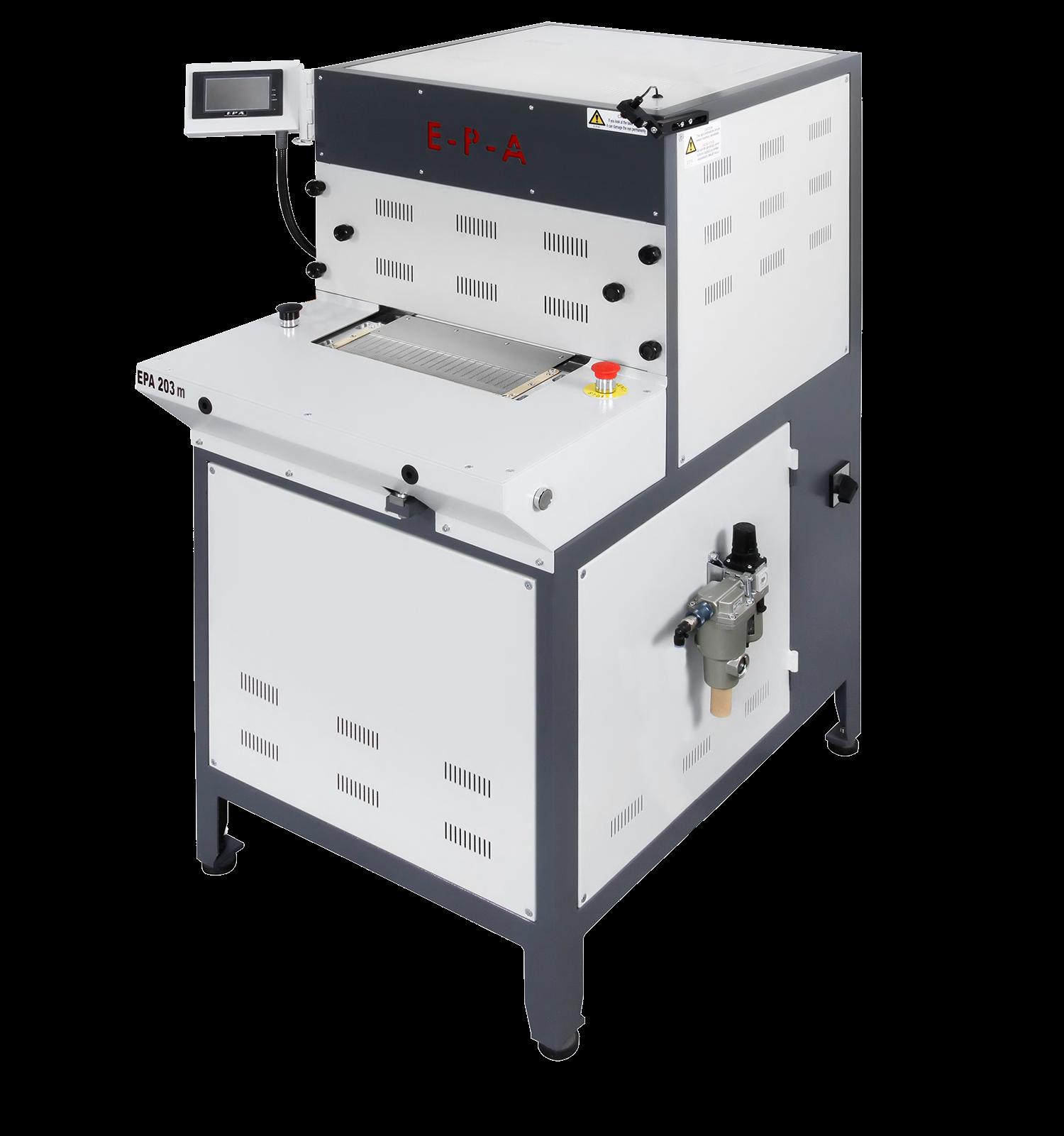 EPA 203M Cuff forming machine