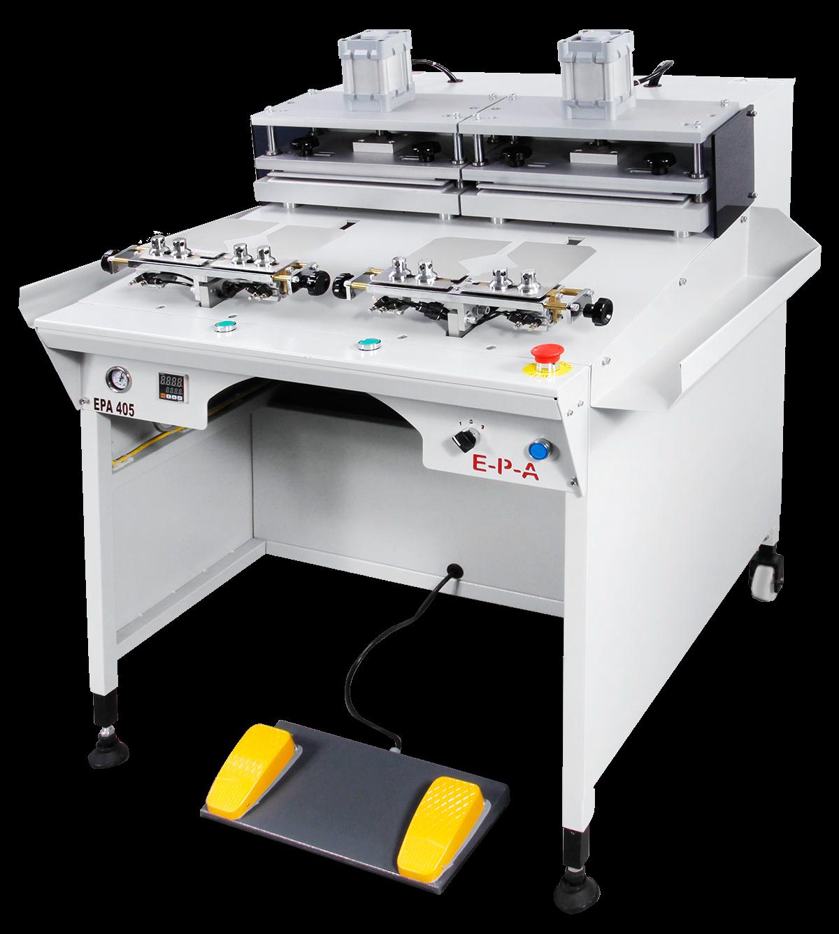 EPA 405 Cuff forming machine