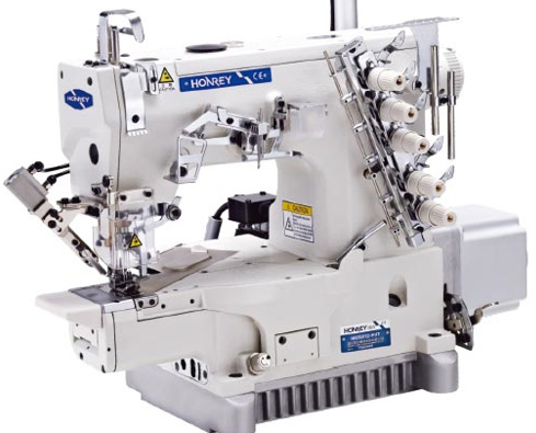 Honrey 2601D-PUT cylinder bed machine