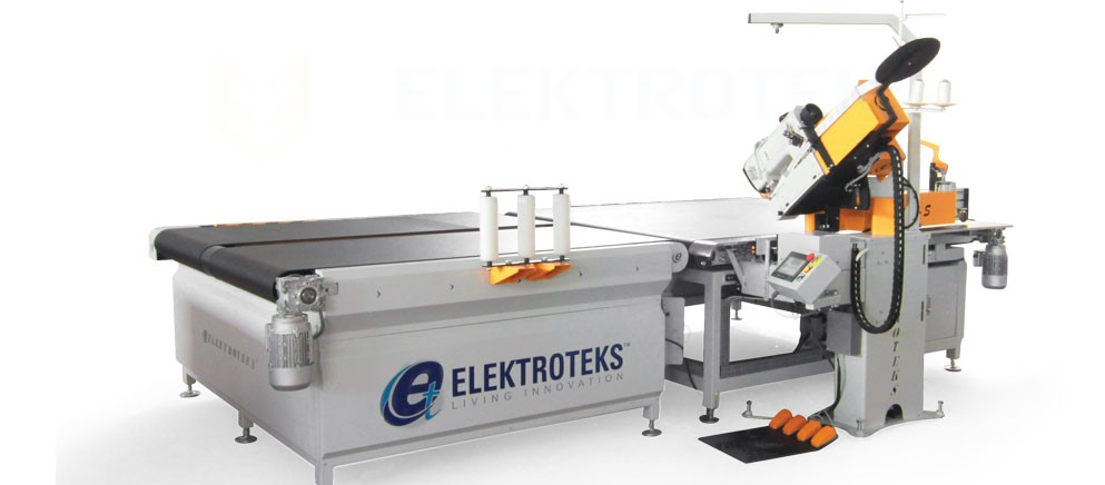 KYK-S Automatic Mattress Tape Edge Machine