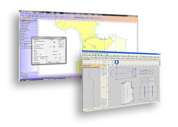 Assyst CAD systems with Digipen for inputting patterns