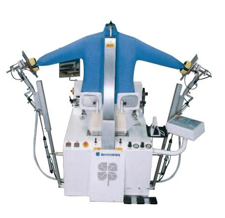 Rotondi SR3000 fully automatic shirt form finisher
