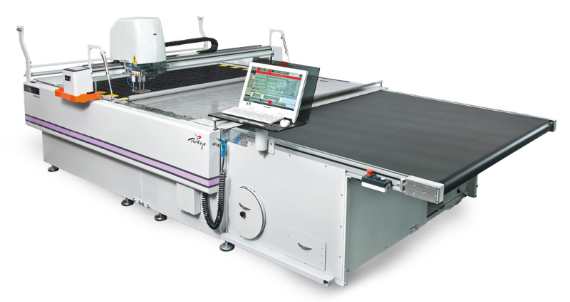 Serkon MC 30 -50 Conveyorized automatic fabric cutting machine