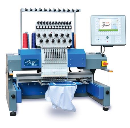 Single-Head All Purpose Embroidery Machine
