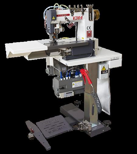 V364 1 2 needle chainstitch flatbed felling unit