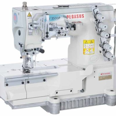 Cover seam machines