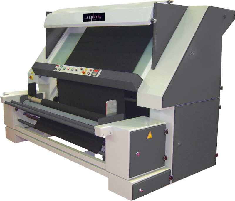 Serkon DE1 woven fabric inspection machine